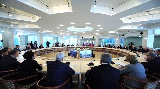 Встреча с Президентом Российской Федерации Владимиром Владимировичем Путиным
